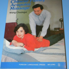Chinese Family Acupoint Massage - carte tehnici masaj chinezesc presopunctura
