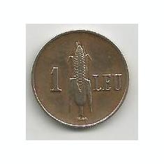 ROMANIA CAROL II 1 LEU 1938 [2] XF, livrare in cartonas - Moneda Romania, Alama