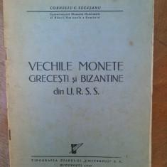 Vechi monede grecesti si bizantine din URSS-Corneliu Secaseanu-Universul 1947 - Istorie