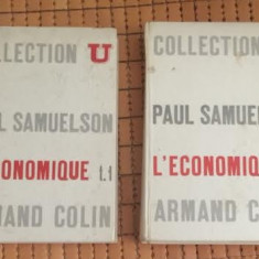 Paul Samuelson L' ECONOMIQUE 2 volume in franceza