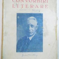 CONVORBIRI LITERARE, ANUL 75, N-RELE 7-8, IULIE-AUG. 1942, DIRECTOR : I.E. TOROUTIU