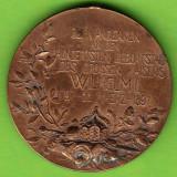 RAR!MEDALIE-Pusia Kaiser Wilhelm I. 100 de ani aniversare:1797-1897, Europa