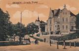 BRASOV , LIVADA POSTEI , CIRCULATA 1928, Printata