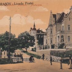BRASOV, LIVADA POSTEI, CIRCULATA 1928 - Carte Postala Transilvania dupa 1918, Printata