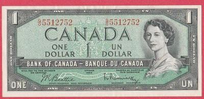 SV * Canada  1  ONE  DOLLAR  1954     AUNC+ foto