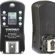 Set trigger transceiver receiver  Yongnuo RF-605 pentru Nikon (603 II