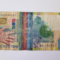 KAZAHSTAN 200 TENGE 2006 - bancnota asia