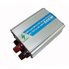 Invertor de 12V sau 24V la 220V cu putere de 500W