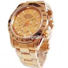 Rolex Daytona Automatic Gold ! ! ! Super Pret ! Calitate Premium ! CUTIE CADOU ! - Ceas barbatesc Rolex, Lux - elegant, Mecanic-Automatic, Inox, Ziua si data