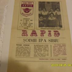 program    Rapid  -  Soimii IPA  Sibiu