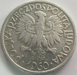 Moneda 2 Zloti - POLONIA, anul 1960 *cod 2812 Allu, Europa, Aluminiu