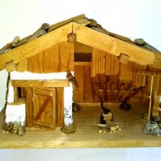 Miniatura, casuta din lemn - suvenir Romania - ideala pentru diorama - Miniatura Figurina