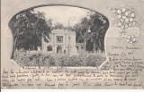 CRAIOVA  , RESTAURANT DIN PARCUL BIBESCU , CIRCULATA  ,  1906, Printata
