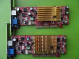 Placa Video MSI GeForce4 MX4000 128MB VGA TV-out AGP - DEFECTA, 128 MB, nVidia
