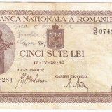 Bancnota 500 lei 20 IV 1942 (4) - Bancnota romaneasca