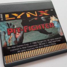 Atari LYNX Pit-Fighter joc disketa caseta discheta consola 1992 colectie clasic