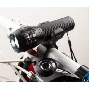 Set Lanterna LED 1W cu Zoom si Semnalizare Bicicleta Power Style