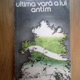 H4 Ultima Vara A Lui Antim - Florin Mugur