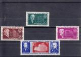 ROMANIA 1957, LP 428 , CONGRESUL NATIONAL DE STIINTE MEDICALE SERIE MNH, Nestampilat