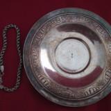 farfurioara si bratara argintata la un singur pret