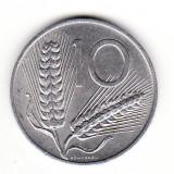 Italia 10 lire 1973, Europa, Aluminiu