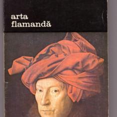 CARTE EDITURA MERIDIANE-ARTA FLAMANDA-ROBERT GENAILLE - Carte Istoria artei