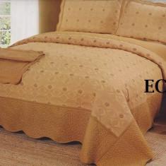 Cuvertura de pat bumbac brodat EC19 - Cuvertura pat