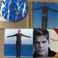 Ricky Martin Vuelve album disc cd muzica pop latino dance ed vest mapa foto 1998