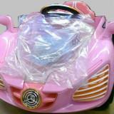 Masina cu telecomanda si2 acumulatoare 6v, cu schimbator viteze - Masinuta electrica copii