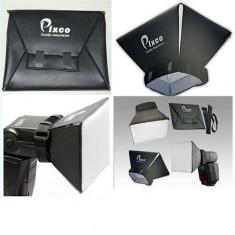Softbox Flash diffuser Pixco universal YongNuo Canon Nikon Pentax Sony Metz, Altul