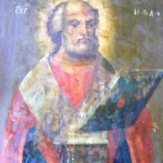 Icoana romaneasca Sfantul Nicolae