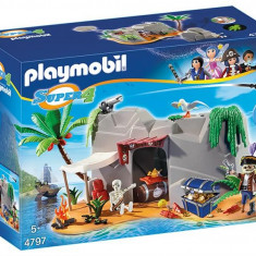 Super 4 - Pestera Piratilor Playmobil
