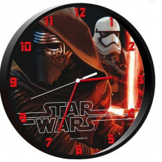 Ceas perete - 25 CM Star Wars Darth Vader Clock - ORIGINAL Disney!!