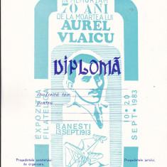 Bnk fil Diploma neacordata Expo fil In memoriam 70 ani moartea lui A Vlaicu
