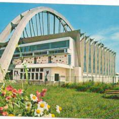 CPI (B6813) CARTE POSTALA - BACAU. SALA SPORTURILOR - Carte Postala Moldova dupa 1918, Circulata, Fotografie