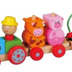 Tractoras Cu Figurine - Vehicul