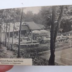 Carte Postala veche.Reghin, complexul sportiv sasesc la 1916.Circulata.Reducere! - Carte Postala Transilvania 1904-1918, Fotografie