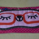 Masca Ochelari Somn Pentru Ochi Blindfold Eyeshades Material Moale Adult