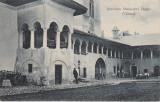 HOREZU  OLTENIA  INTERIORUL   MANASTIREI HOREZ (VALCEA)  CIRCULATA  1909