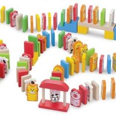 Domino Cu Animalute 110 Piese - Jocuri Board games