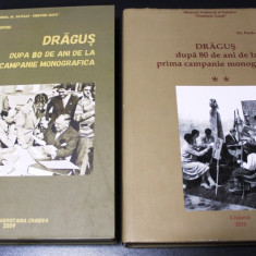 Dragus - 80 de ani de la prima campanie monografica vol 1-2 sat din tara oltului - Carte Sociologie