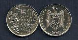 MOLDOVA  50 BANI  2005  [1]  XF++  ,   livrare in cartonas, Europa, Fier