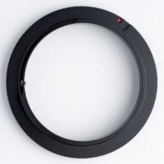 Inel inversor 52mm - Sony Minolta - Inel inversor obiectiv foto