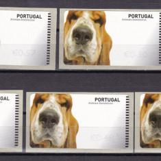 Portugalia 2005 fauna caini MI 50 timbre automat MNH w26 - Timbru de Automat