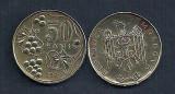 MOLDOVA  50 BANI  1997  [3]    livrare in cartonas, Europa, Fier