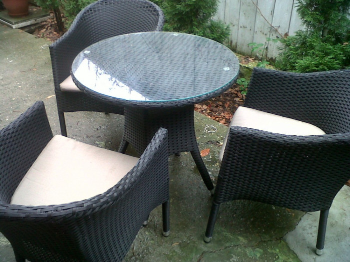 set ratan masa 3 scaune pret dedeman 1013 lei set ws1228 ws1673 arhiva. Black Bedroom Furniture Sets. Home Design Ideas