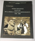 Fundu Moldovei - 80 de ani de la prima campanie monografica - scoala sociologica, Alta editura