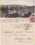 Braila-Piata Regala- tramvai , trasuri- clasica