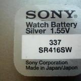 Baterie ceas Sony, cu argint 337-SR416SW, Constanta.