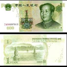 CHINA- 1 YUAN 1999- P 895- UNC!! - bancnota asia